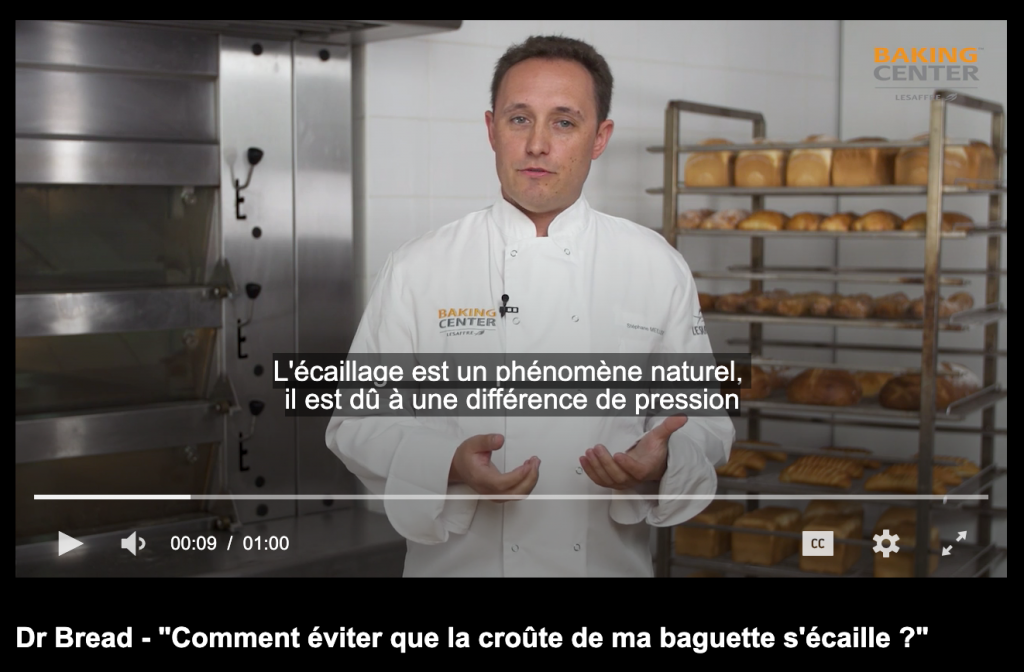 Exemple de vidéo marketing Lesaffre : Dr Bread
